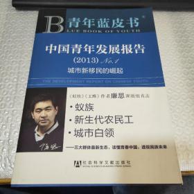 中国青年发展报告. (2013)No.1:城市新移民的崛起~作者签赠本