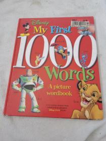(迪斯尼之看图识字1000个) DISNEY: MY FIRST 1000 W