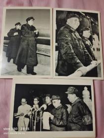 毛林老照片3张合售