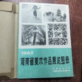 1982湖南省美术作品展览图录