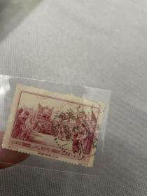老纪特邮票信销票青藏公路 广东紫金瓦溪戳