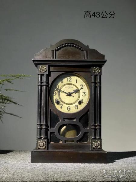 民国时期永康牌老钟表,民国包老保真,款式精美,走打