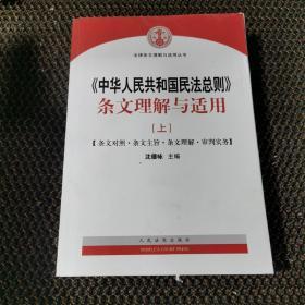 中华人民共和国民法总则 条文理解与适用(上册)