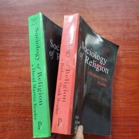 Dedong wei zhifeng zhang《SOCioIOgy of ReIigion》两本合售(扉页有 魏德东 签名)