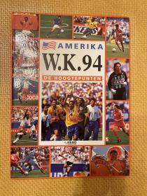 1994世界杯足球画册 巨型大开本 荷兰rebo法国levy原版世界杯欧洲杯画册 赛后特刊 重约2kg 包邮快递