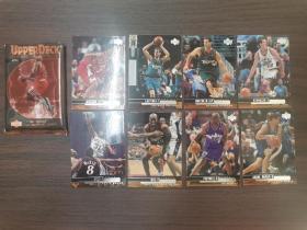 8.20~90年代左右原版NBA球星卡8张合售(附原袋)