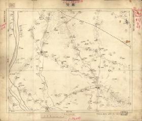 黄村(北京大兴)地图,北京近傍系列,古地图0558-16,本系列北京周边地图共24品种。