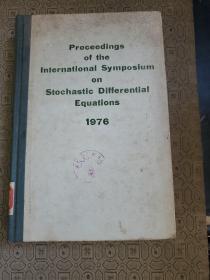 随机微分方程国际会议录(原版精装英文书)