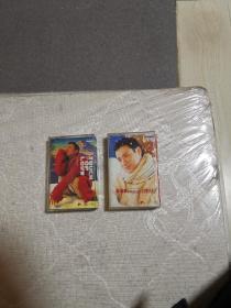 磁带  张学友  《友情歌-世纪情歌金选》2001  两盒
