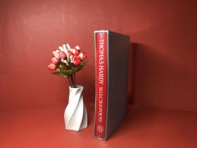 预售托马斯哈代诗歌选集folio豪华限量版Selected Poems Thomas Hardy folio deluxe
