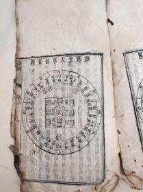 孔网孤本超大版 本       易学名著 易问  一册两卷白棉纸少见。