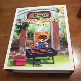 杜杜快乐阅读Dudu happy reading level 4-B盒装内含:1-10全、拼读课本、拼读CD、故事CD、辅音表、阅读进度海报