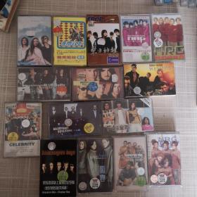 磁带:乐队各种组合  18盘合售
