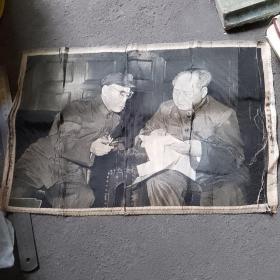 中国杭织东方红丝织厂宣传画