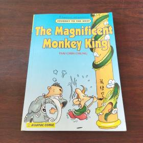 THE MAGNIFICENT MONKEY KING(英文原版,32开卡通漫画,美猴王,蔡志忠漫画)