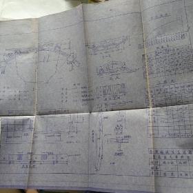 蔚县水利工程设计图纸一册