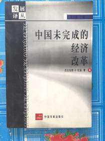 中国未完成的经济改革