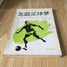 怎圆足球梦 怎么圆足球梦 关于中国足球的思索探寻及其他 原版 正品 无笔迹