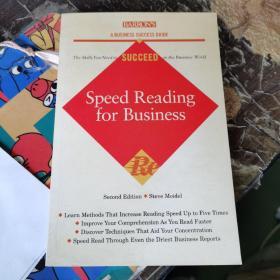 英文原版 Speed Reading for Business (Barrons Business Success)