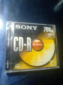 SONY CD-R 700MB CD(全新未开封)索尼可刻录光盘 CD光盘【两张未开封合售】