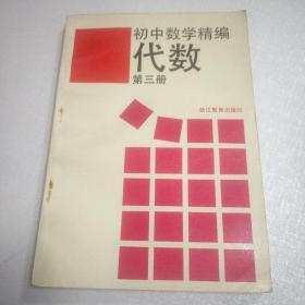 初中数学精编(代数第三册)