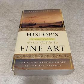 【现货】Hislop's Official International Price Guide to Fine Art