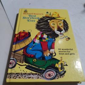Richard Scarry's Best Storybook Ever!斯凯瑞:最棒的故事集 英文原版