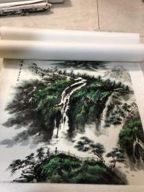 画家 佘德林  山水画一副21