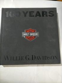 100 Years of Harley Davidson签名本