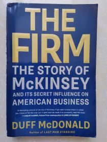 麦肯锡及其对美国商界的神秘影响 The Firm :The Story of McKinsey 平装387页面 达夫·麦唐纳