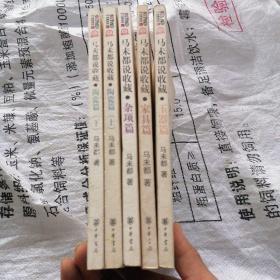 马未都说收藏:家具篇;陶瓷篇(上 下);玉器篇;杂项篇;【全四种五册合售】