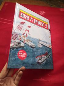 """港珠澳大桥绘本 ·超级大桥通车了 """"中国力量""""科学绘本系列"""