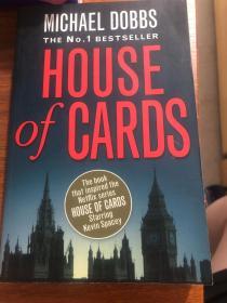 外语原版书:<House of Cards>纸牌屋英文原版
