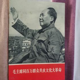毛主席同百万群众共庆文化大革命