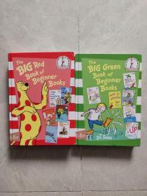 The Big Red Book of Beginner Books大红书 英文原版(2本合售)