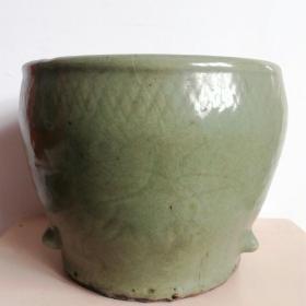 浩然斋集青瓷之一百三十三:古朴厚重青瓷悬足香炉