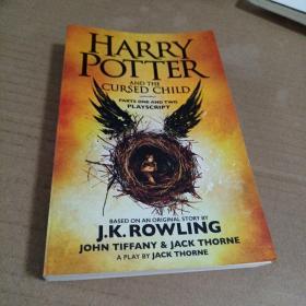 哈利波特8 哈利波特与被诅咒的孩子 英文原版Harry Potter 8 JK 罗琳