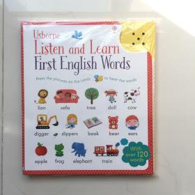 Listen and Learn First English Words,听与学基础英文单词   音板无声  不确定是坏还是无电