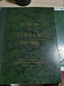 民國早期,-故事--一個世紀.1789-----1889(世紀之交)大本,屬于上個世紀的交紀圖片,稀少孤本,此書以圖為準!