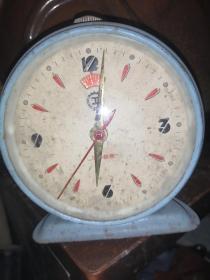 上海钟厂,工字牌钟表,不走