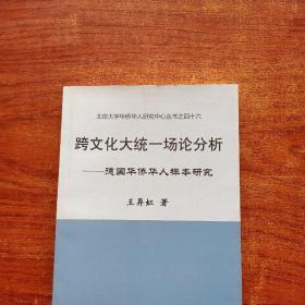 跨文化大统一场论分析:德国华侨华人样本研究