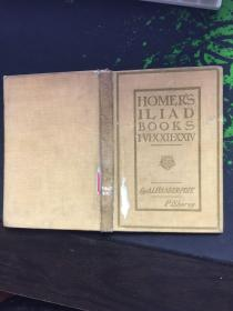 HOMER'S ILIAD BOOKS:POPE'S THE ILIAD OF HOMER