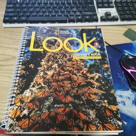 【外文原版】Look 1 Teacher's Book(带两张光盘和一本小册子)