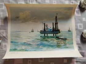 大海新貌(油画)1977