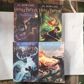 Harry Potter and the Philosopher's Stone:1.2.3.4.6.7(6册合售)哈利波特英文版原版全集 。