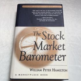 【英文原版书】   The Stock Market Barometer   《股市晴雨表》  英文原版   精装近全品