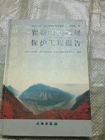 长江三峡工程文物保护项目报告·丁种第2号:瞿塘峡壁题刻保护工程报告