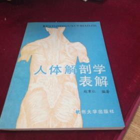 人体解剖学表解