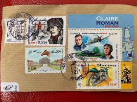 法国邮票(拿破仑奥斯特里茨战役200年及其它)