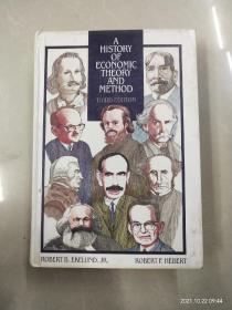 英文原版:A HISTORY OF ECONOMIC THEORY AND METHOD